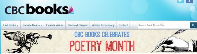 Poetry 2015   CBC Books   CBC Radio