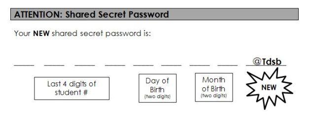 Shared secret