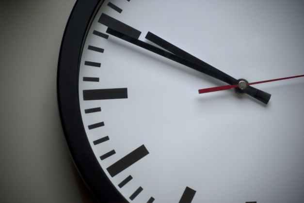 analogue classic clock clock face